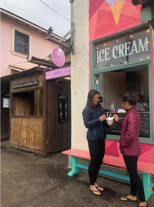 Ice Cream in Paia, Maui