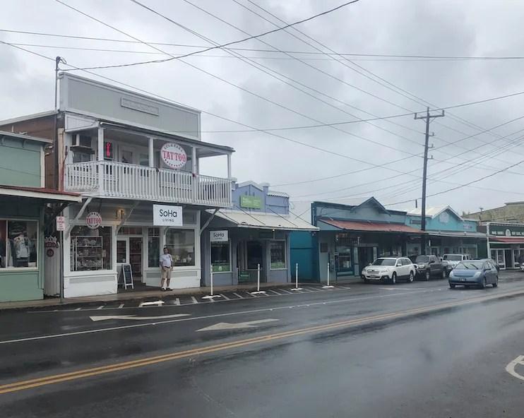 Downtown Paia, Maui