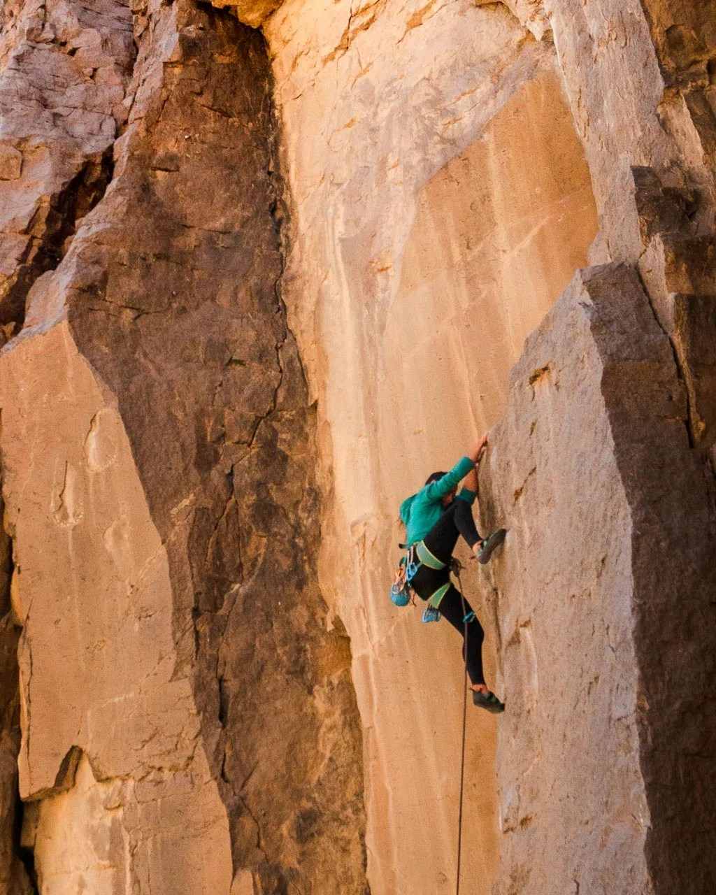 Climbing in Bishop CA