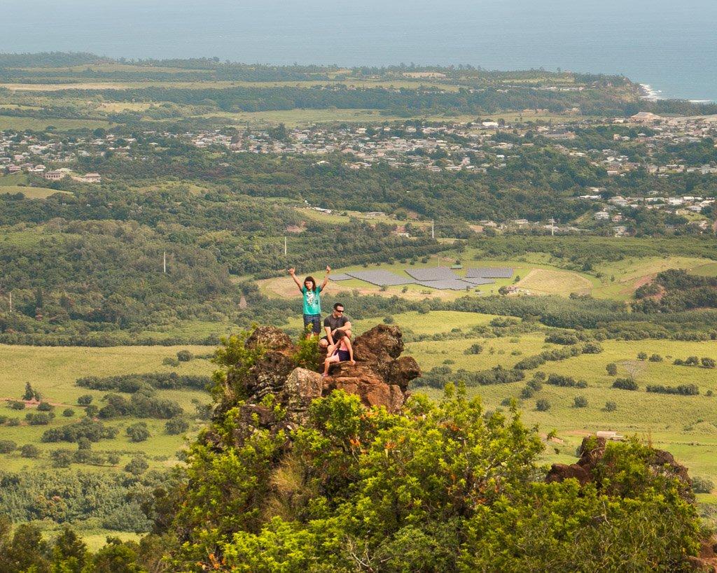sleeping giant hike, kauai