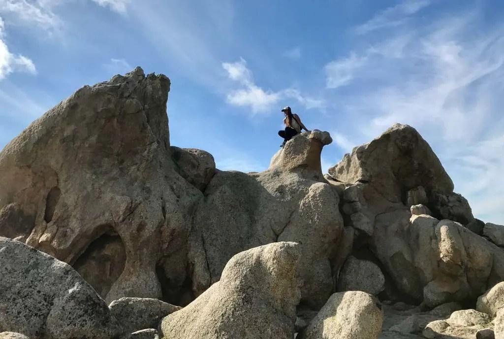 Anza Borrego desert in Southern California