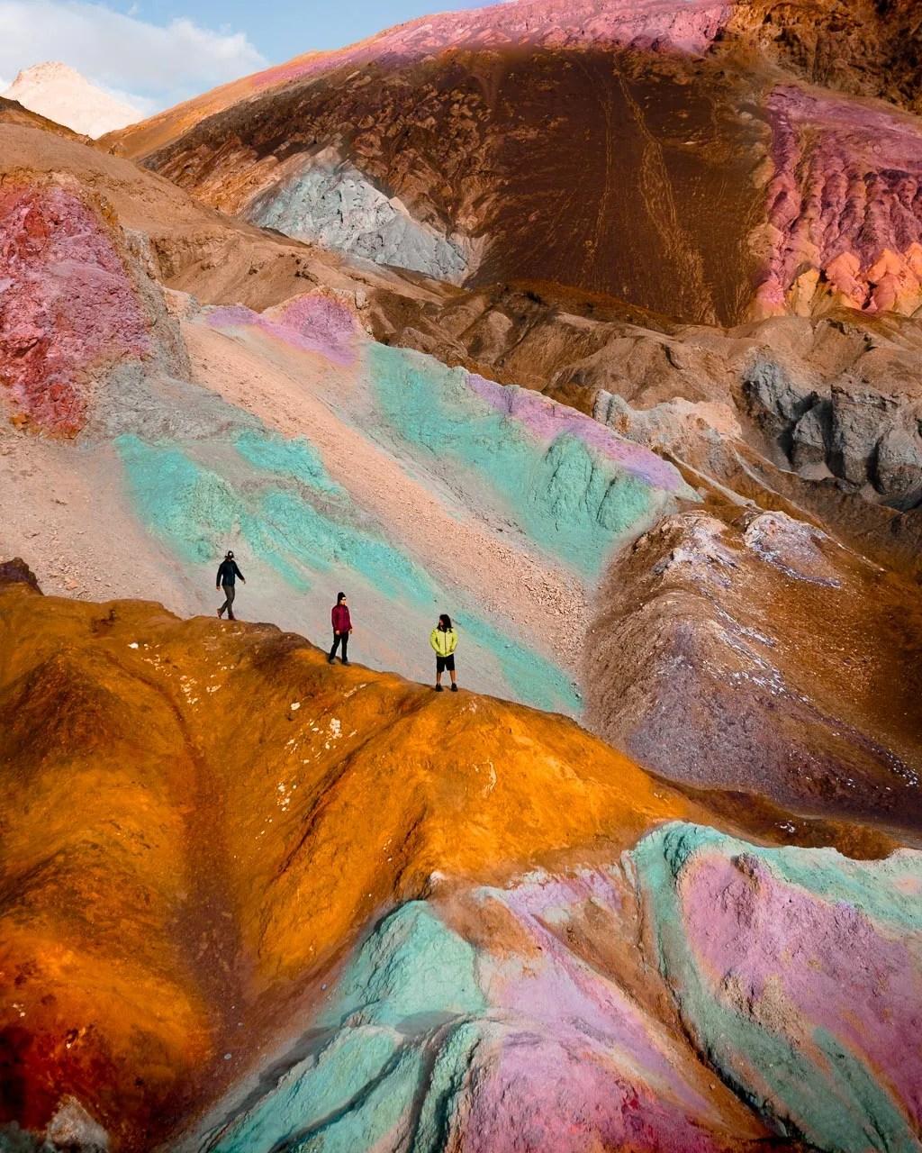 Artists Pallette, Death Valley