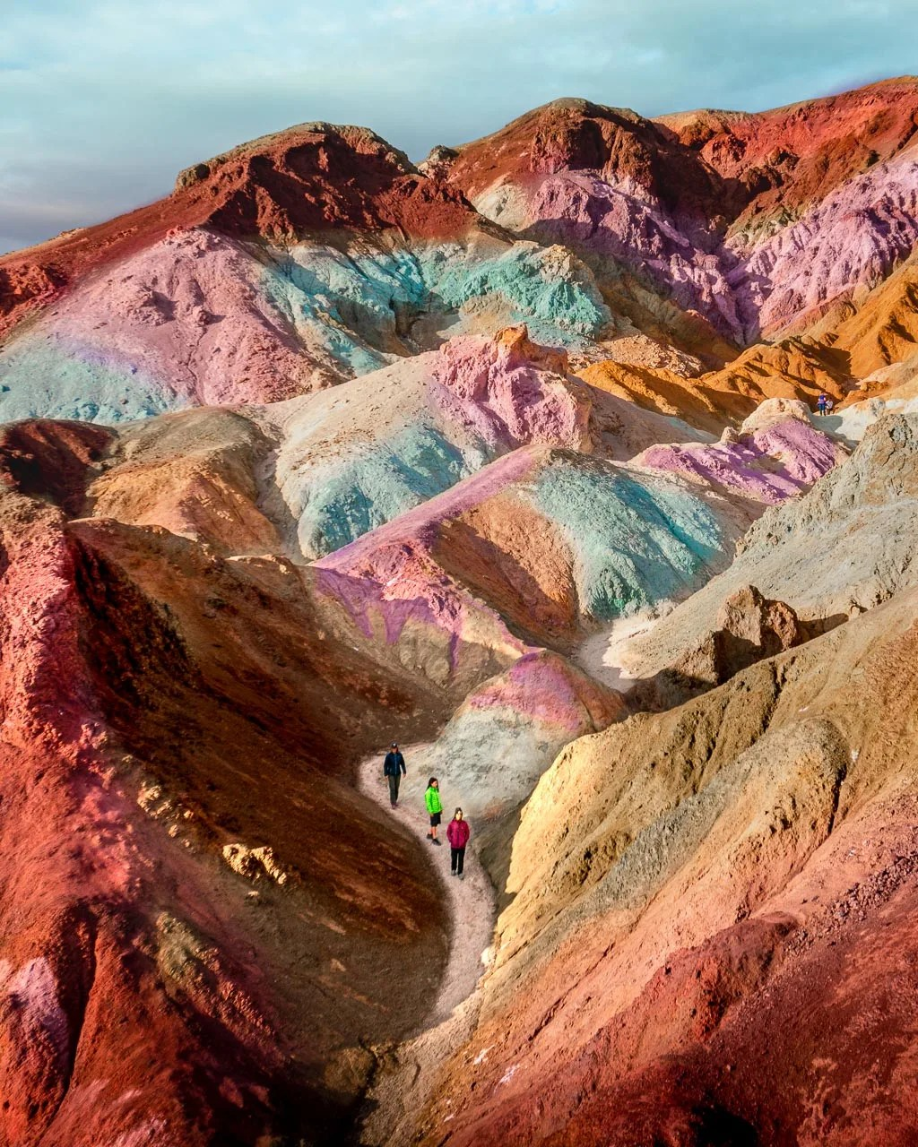 Artists Pallette in Death Valley