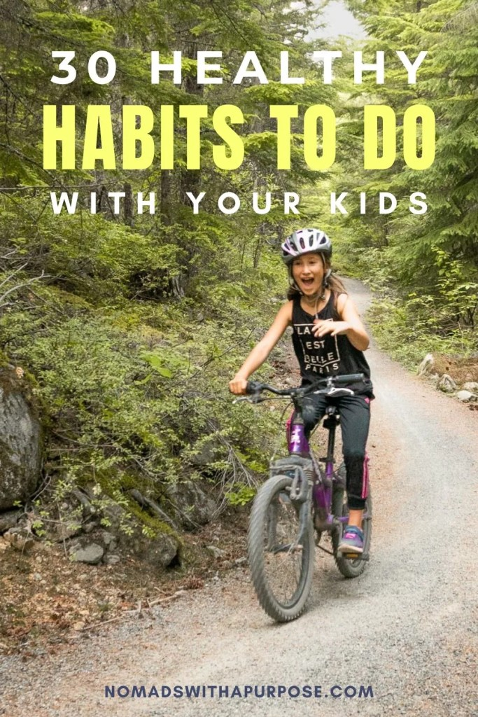 healthy habits to do with kids