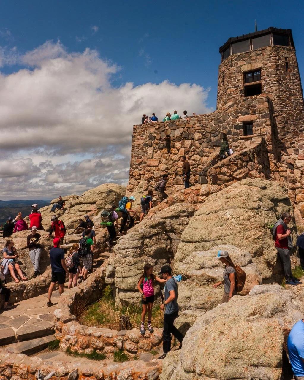 Harvey Peak Fire Lookout Tower