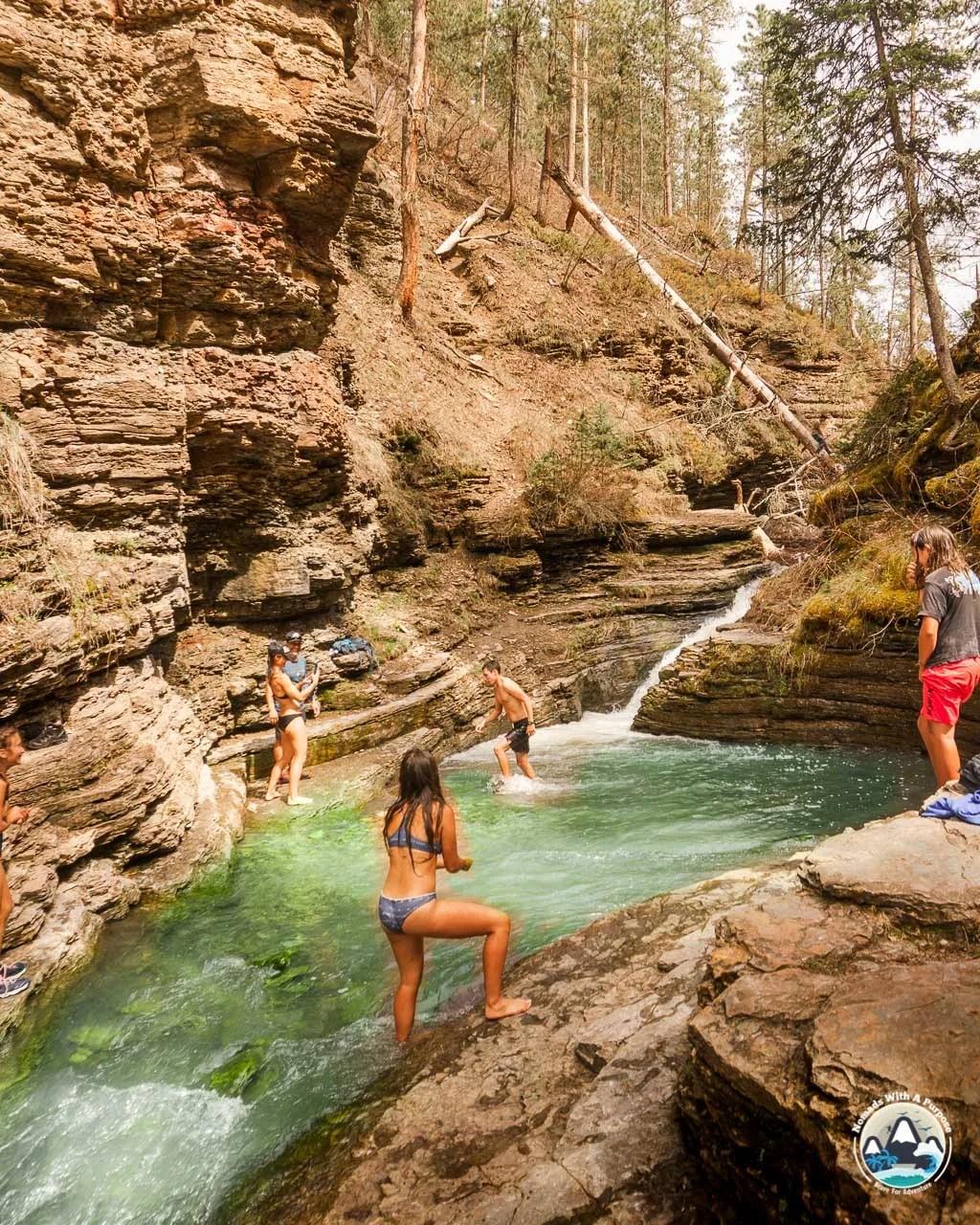 Things to do Black Hills South Dakota Devils Bathtub