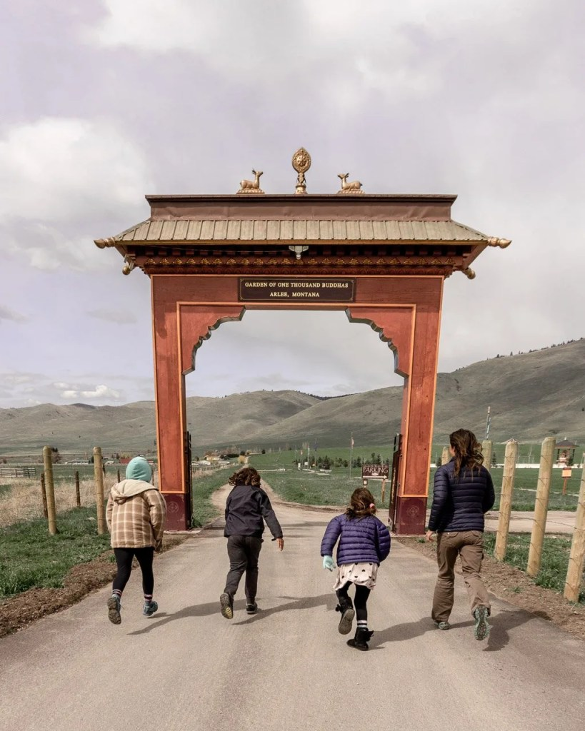 Garden of 1000 Buddhas Montana