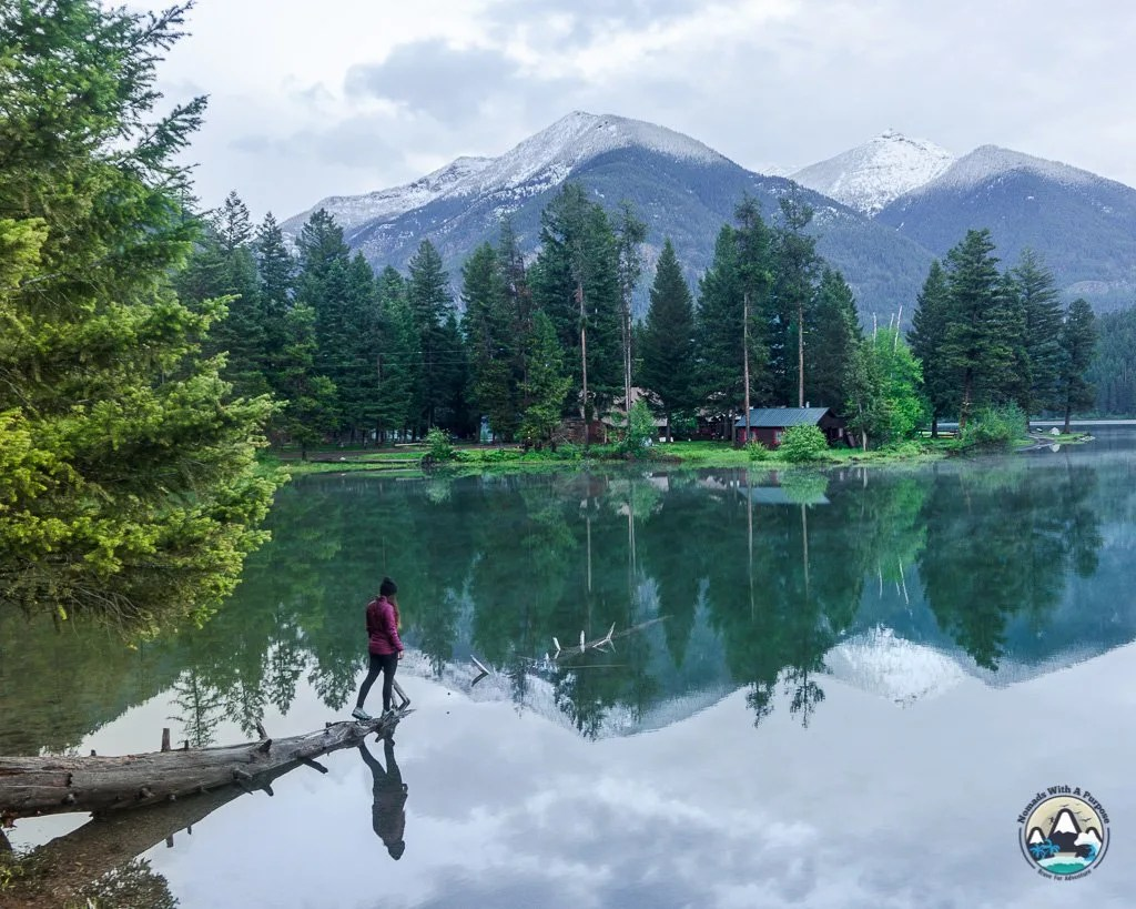 Grand Teton to Yellowstone to Glacier National Parks Road Trip Holland Lake