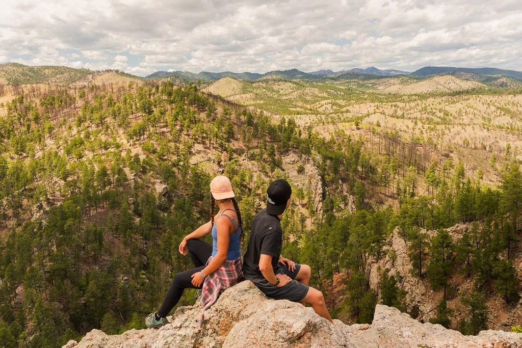 Lover Leap Hike in Custer SP