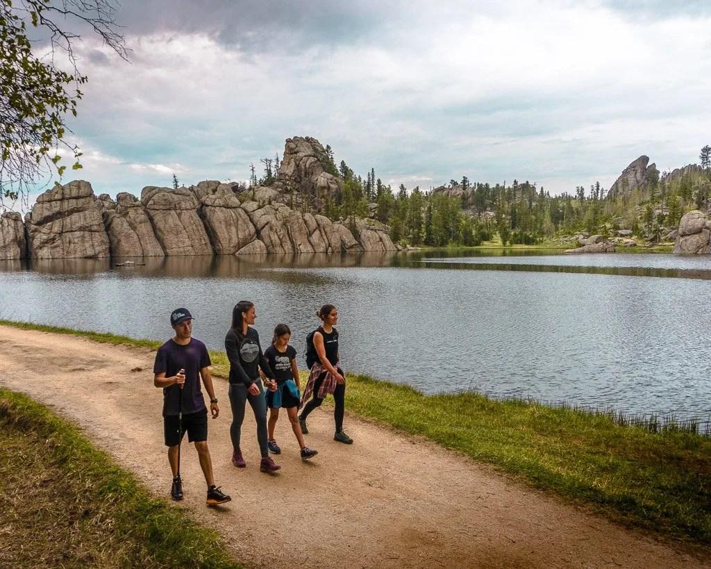 Hiking Sylvan Lake Trail