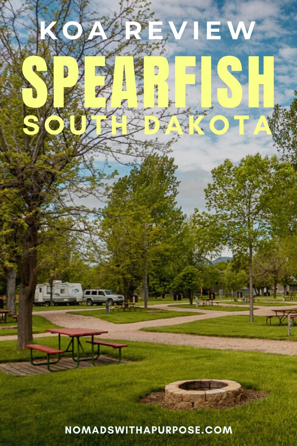 Camping Spearfish KOA campground review