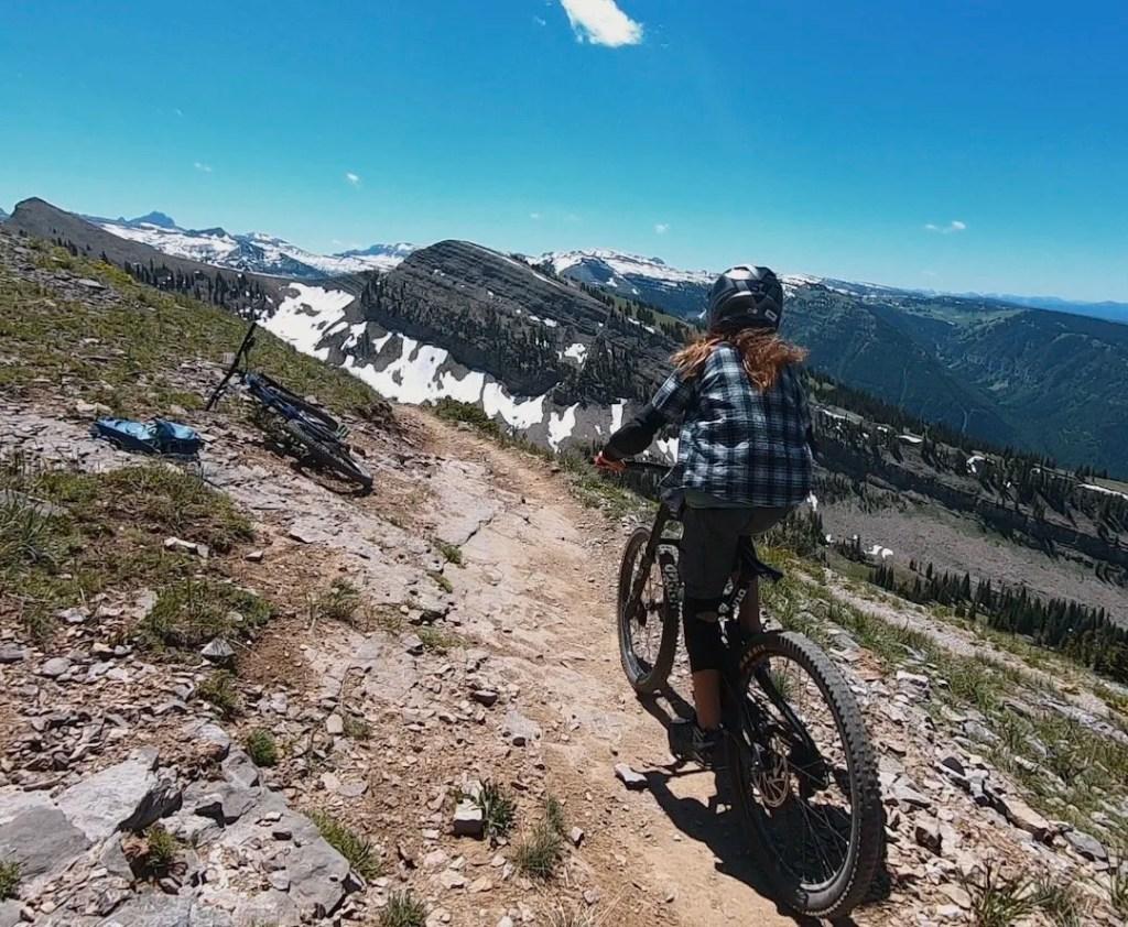 Sidewinder Trail, Grand Targhee Bike Park