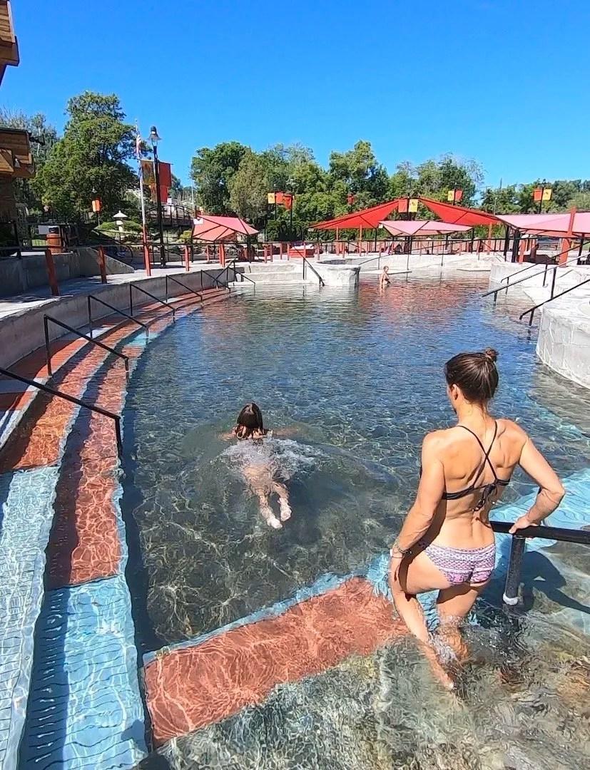 Lava Hot Springs hot Pools Idaho