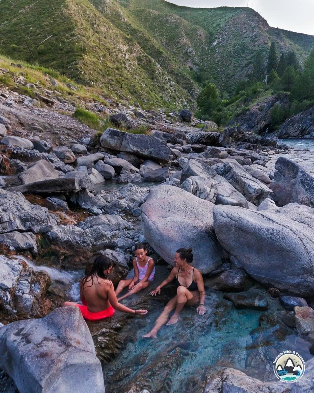 Kirkham Hot Springs Idaho Summer Adventures