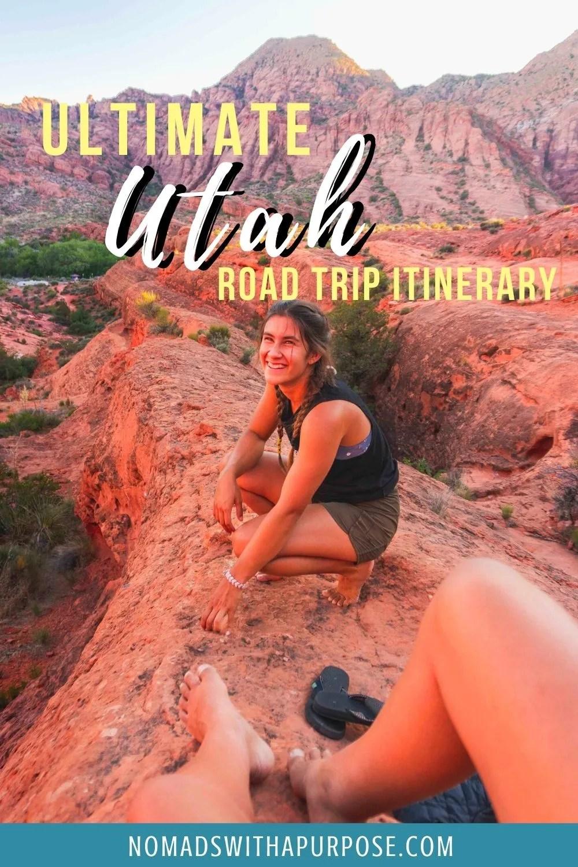 Utah Road Trip Itinerary