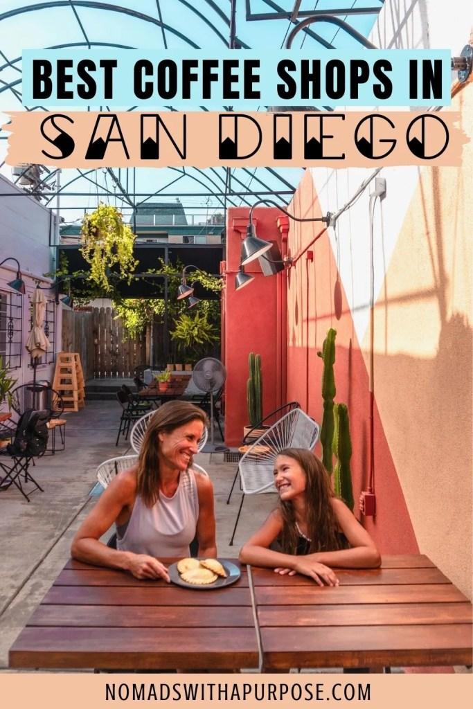 Best coffee shops San Diego