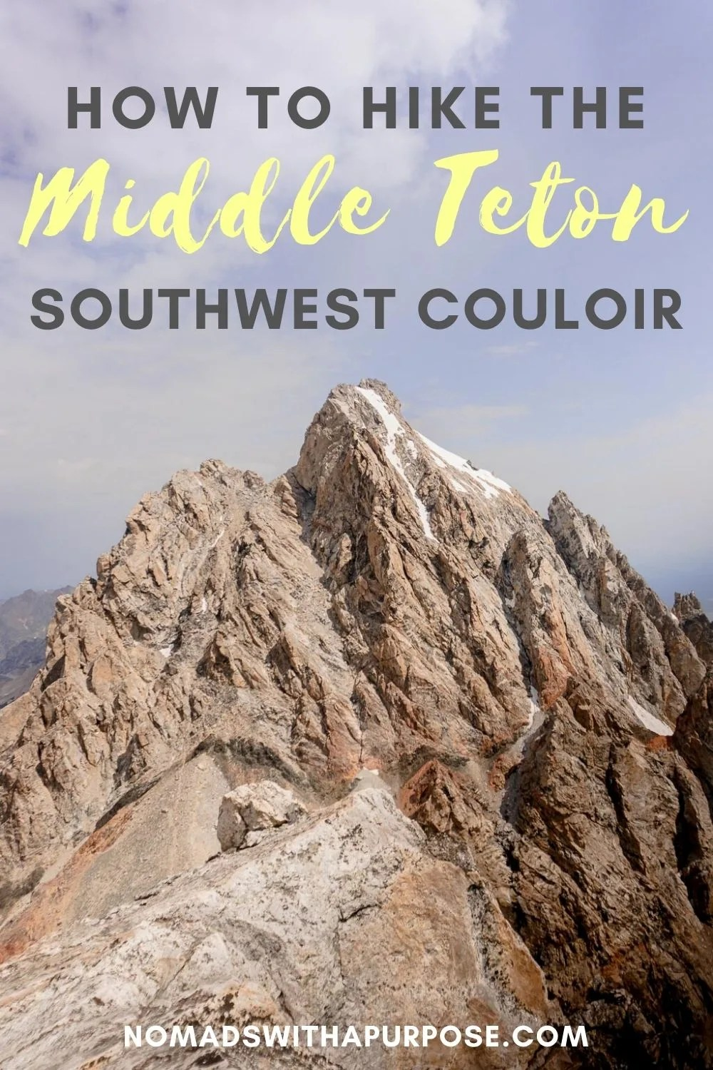 Middle Teton Southwest Couloir Hike