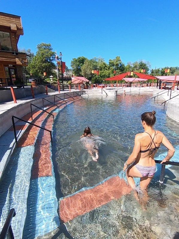 Lava Hot Pools