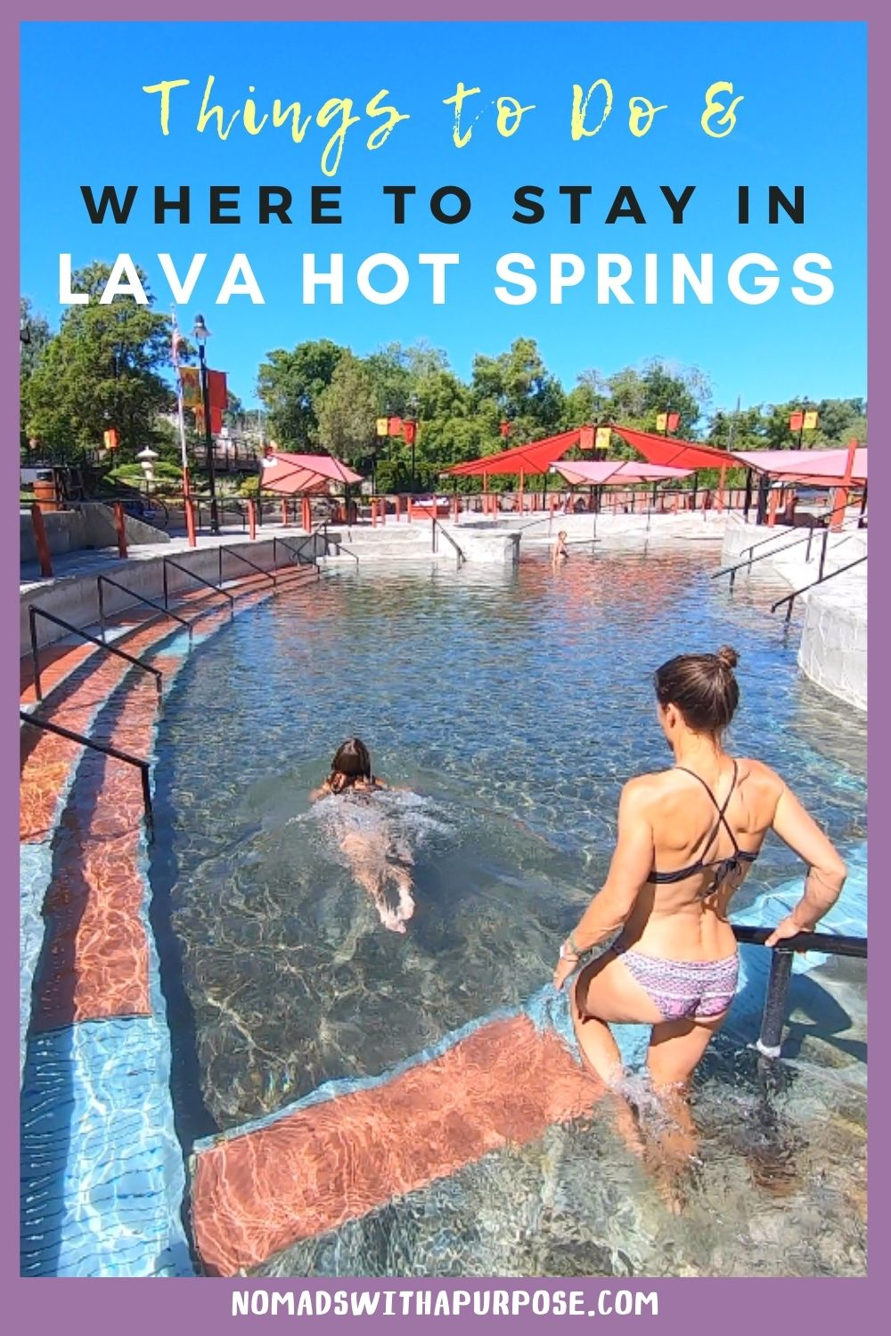 Lava Hot Springs: Things to do + where to stay