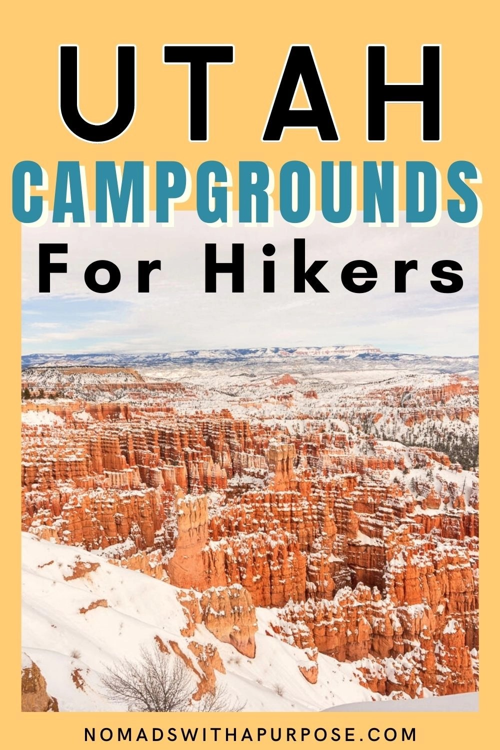 Utah Campgrounds for Hikers
