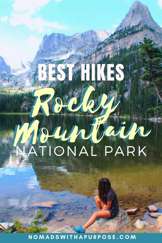 Hikes Rocky Mountain NP Pin