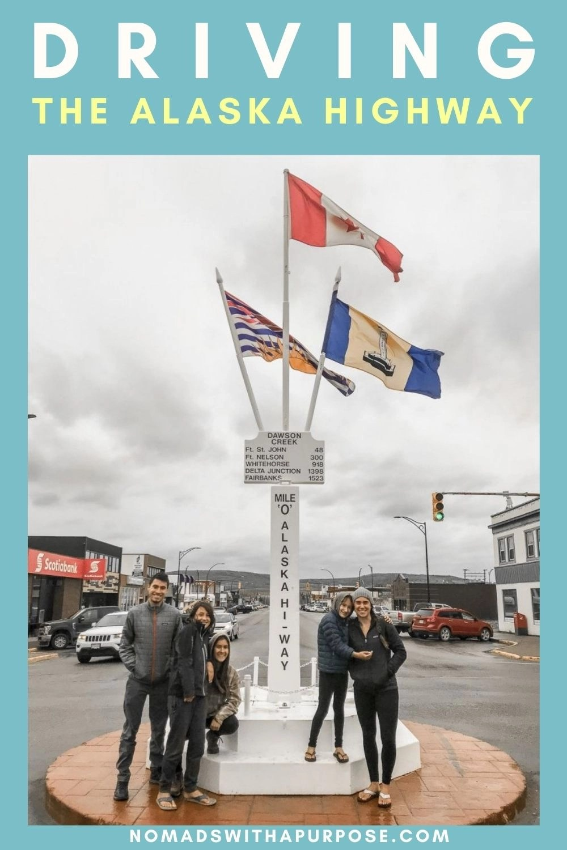 Driving the Alaska Highway pin