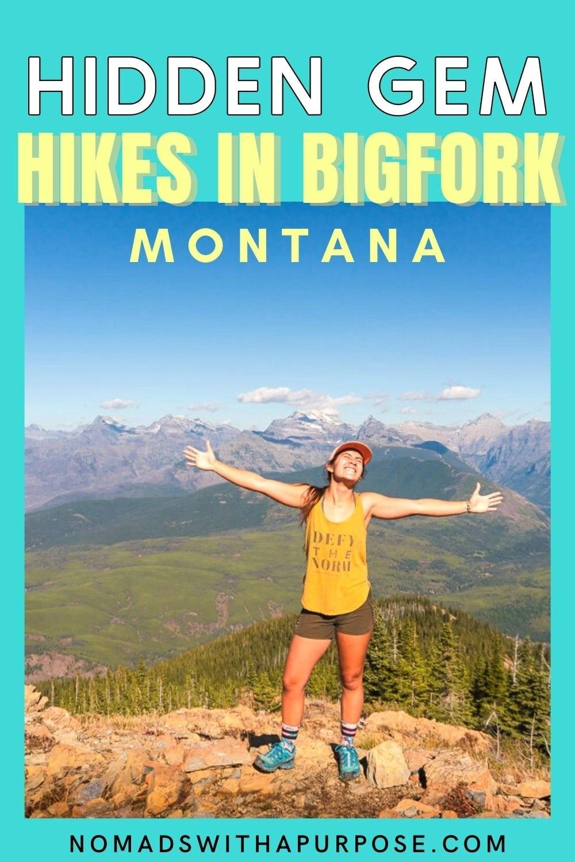 hidden gem hikes bigfork, montana