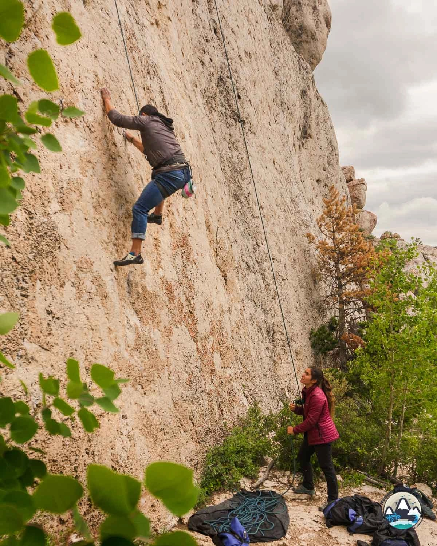 Lander Wild Iris Rock Climbing