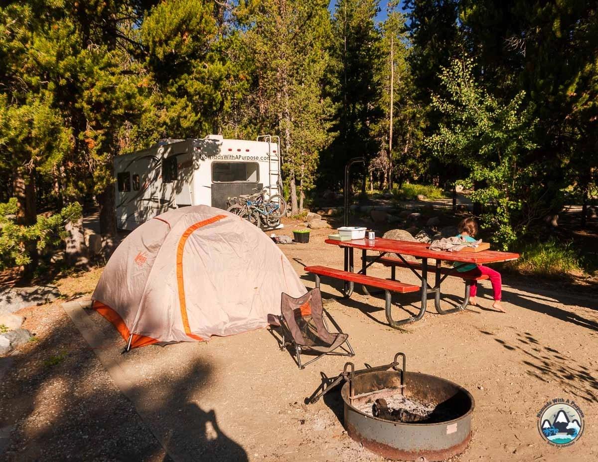 Upper tensleep canyon camping