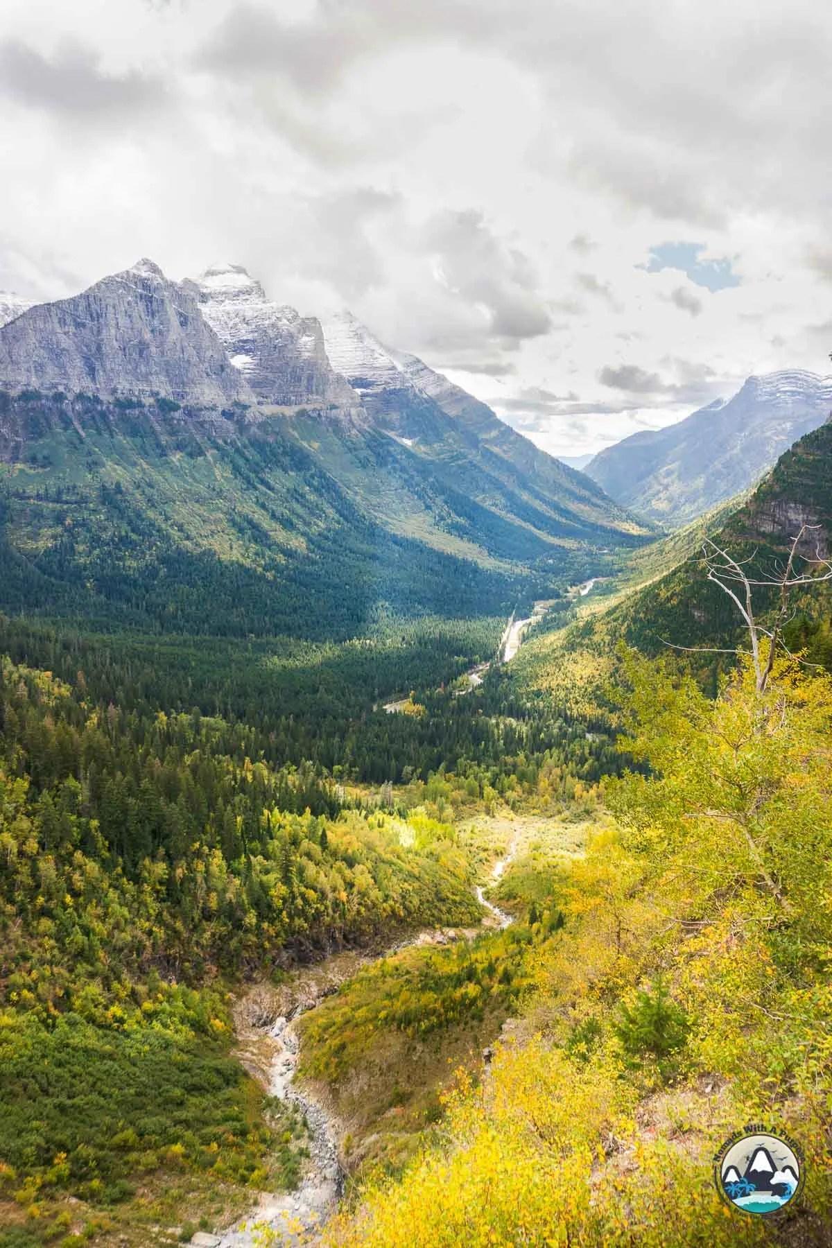 Glacier National Park Fall Foilage