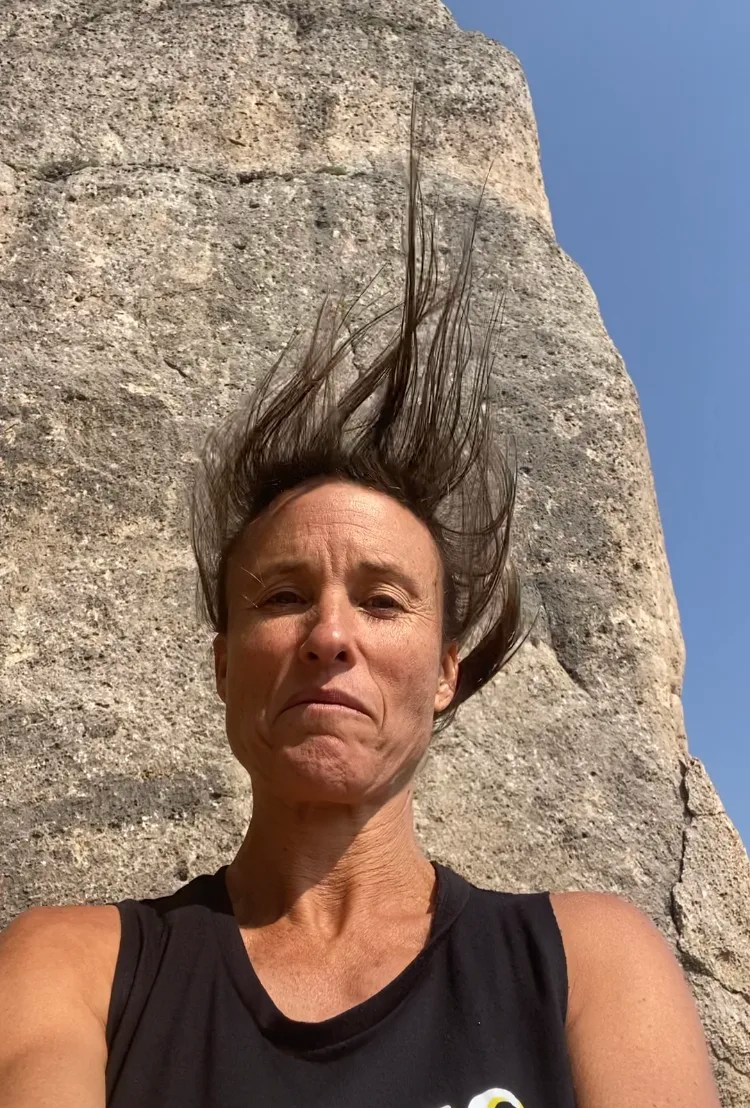 Crazy Wind on our Wyoming Road Trip