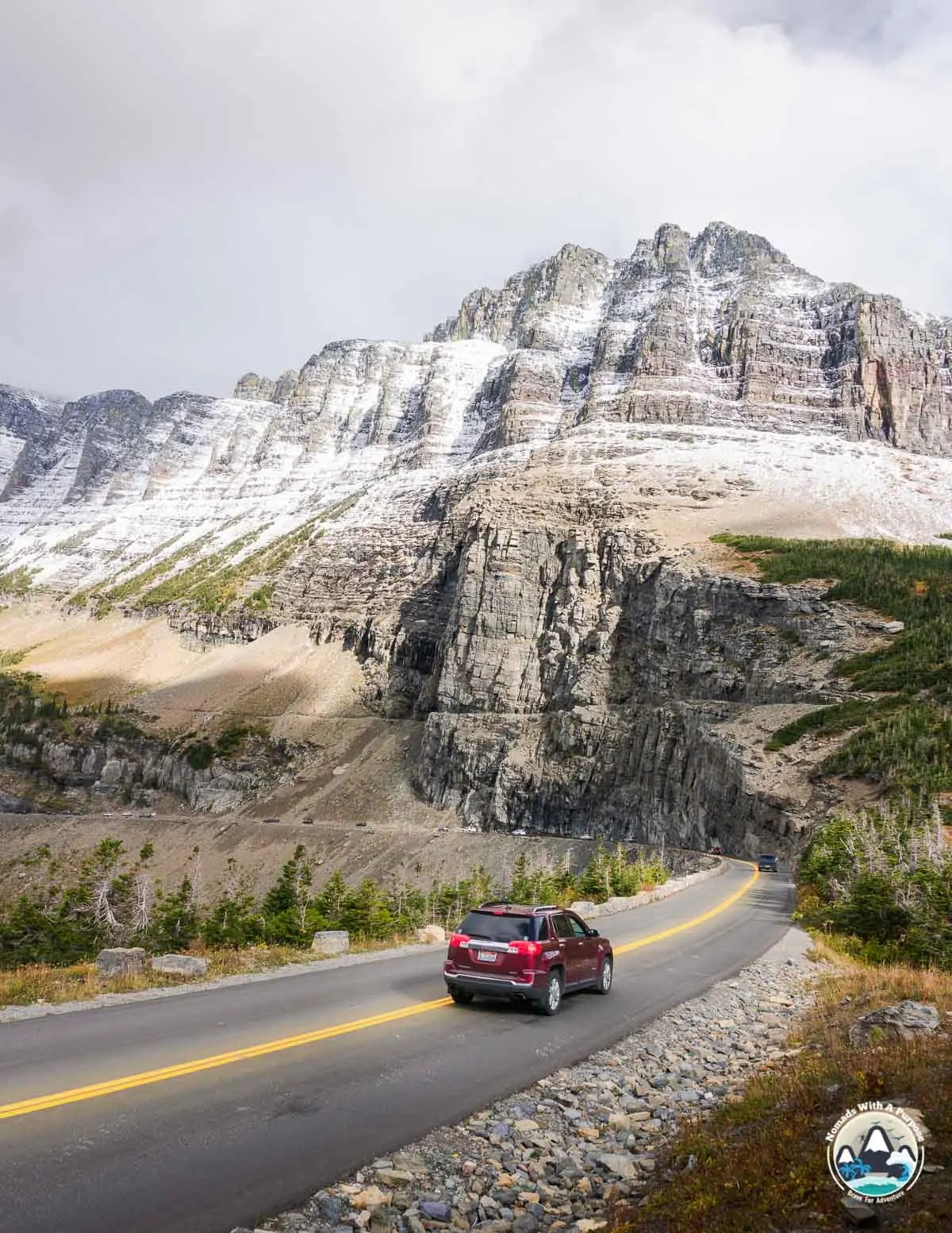 September Views on Going to the Sun road