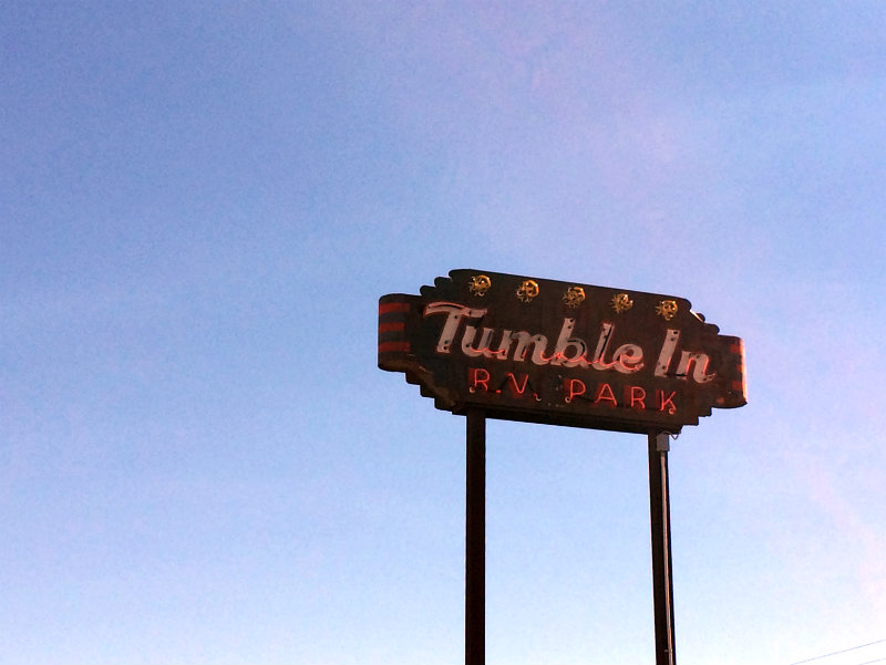 Tumble In Marfa
