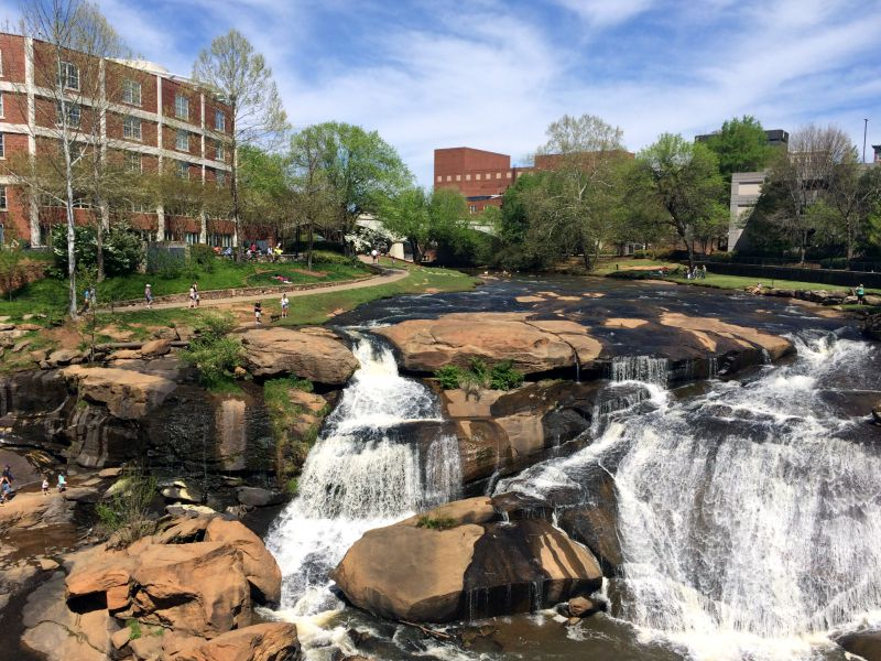 Falls Park Greenville