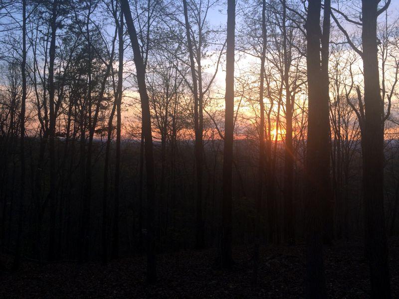 Keowee Toxaway sunset