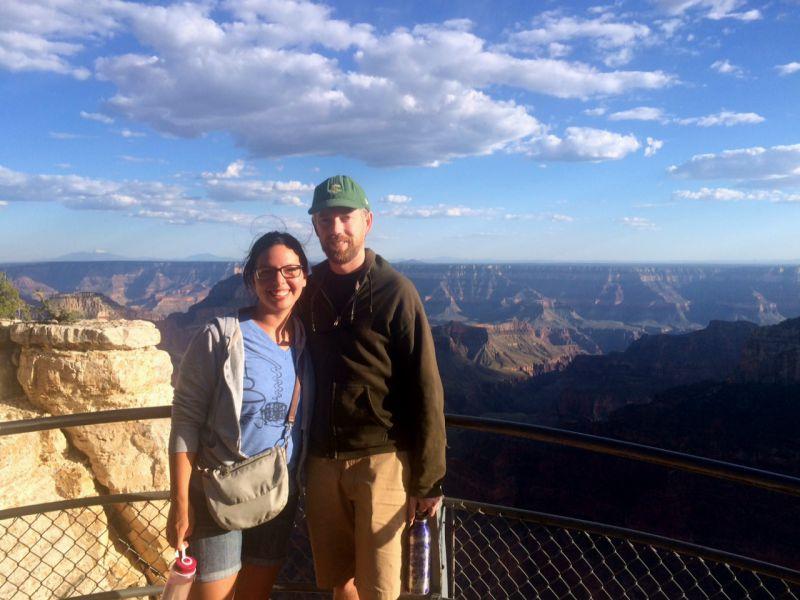 Tamara Chris Grand Canyon