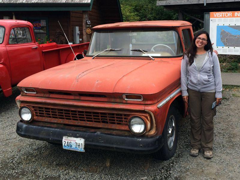 Bellas Truck in Forks