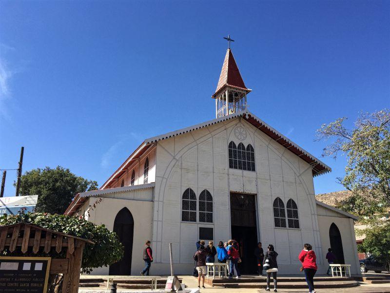 Santa Rosalia church
