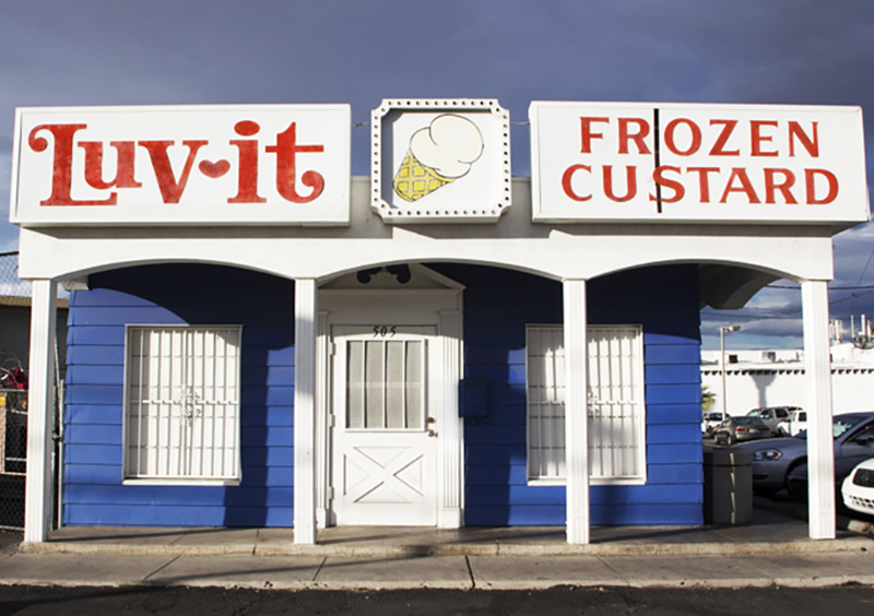 Luv-it Frozen Custard Building
