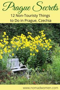 Pinnable Image for Prague Secrets-12 Non-touristy Things to do in Prague
