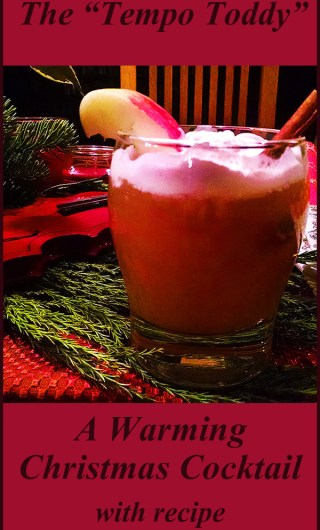 Hot cider Christmas Cocktail photo - Pinterest ready