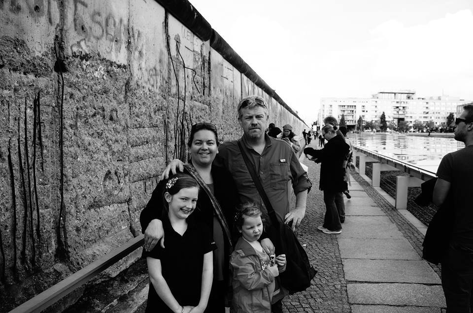 Mark, Bec, Willow & Marley of Wyld Family Travels