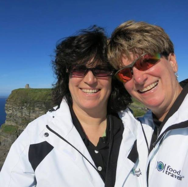 Sue and Diana of Food Travelist