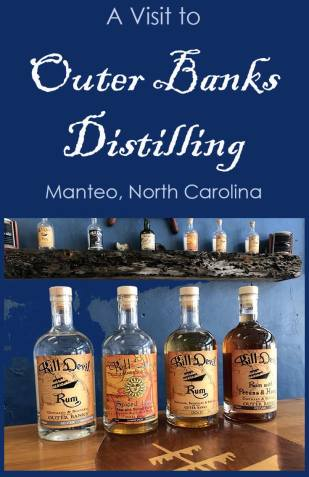A visit to Outer Banks Distilling in Manteo, NC