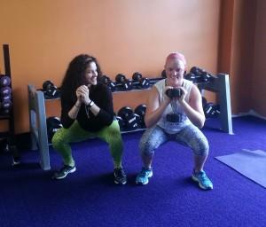 Anna goblet squat
