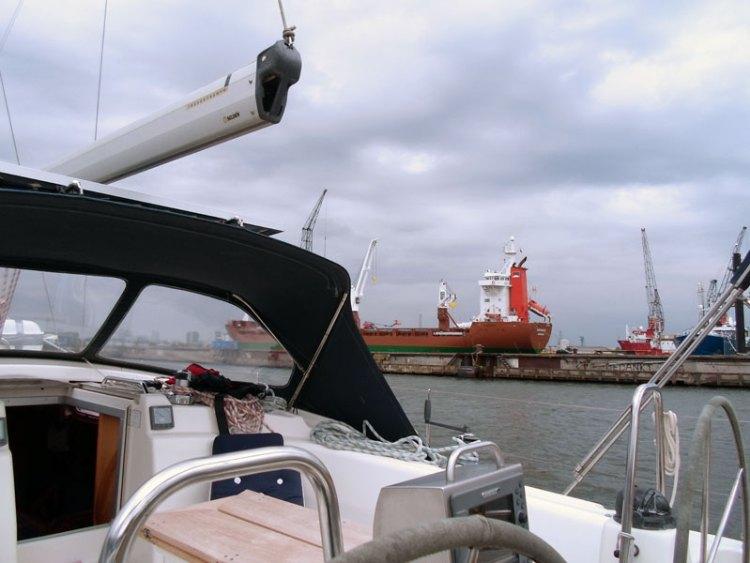 Nomas in Amsterdam Marina