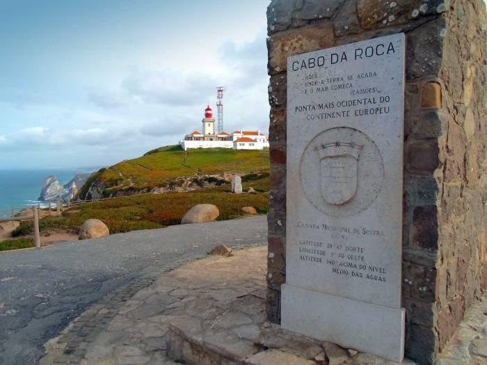 Cabo da Roca, verder westelijk kung je niet