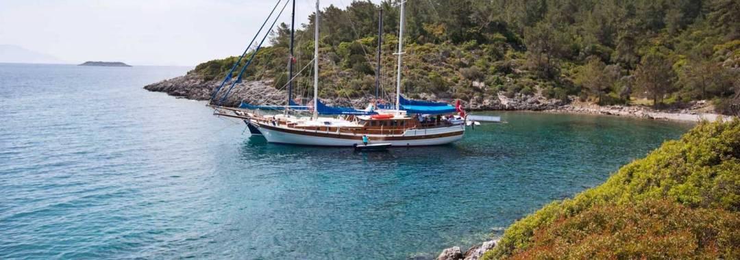 Schrijven en zeilen in Griekenland