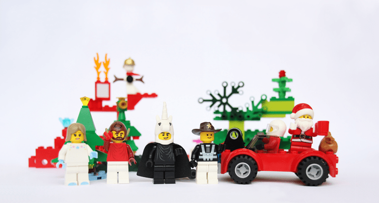 Lego Christmas Scene from Lego Serious Play workshop