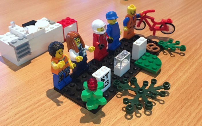 Team building model from Lego Serious Play workshop